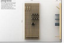 MAISON / Entrée + Bibliothèque