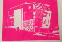 My Lino cut Prints