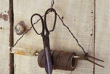 Веревки, ножницы