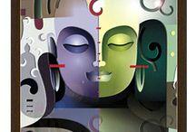 Frames - Lord Ganesha, Krishna, Buddha
