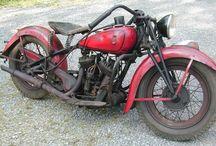 Classic bikes / Oude motoren