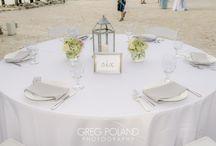 Center pieces for Weddings