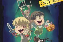 Halloween Anime & Manga