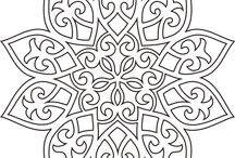 motif sandblastes