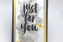 SAB 2016 - Just For You / Cards using the Just For You stamp set from Stampin' Up!'s Sale-a-bration catalogue 2016