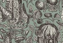 Vintage Patterns / Classic pattern designs and styles from past centuries and decades, by famous or unknown artists.