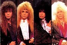 Glam metal bands and their girls