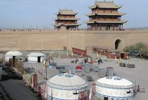Jiayuguan, Gansu, China / Photos taken by David Stanley on a visit to Jiayuguan, Gansu, in western China.