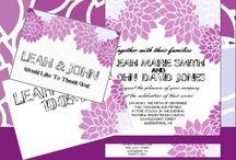 Wedding Printables / Wedding Printables - Invitations, Party Printables etc.