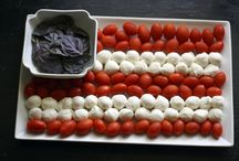 Holiday:Red White And Blue Foods / by pamela leonard