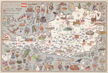 mapa illustrated