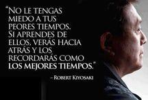 Robert kiyosaki...