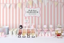 ice cream / Ice-Cream Wedding Treats