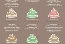 frosting..flavours