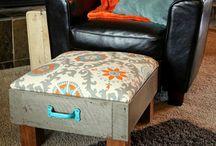 Из старой мебели