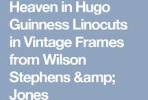Hugo Guinness Framed prints