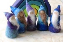 felting waldorf inspiration