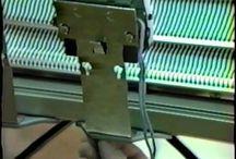 Passap machine knitting