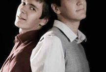 Fred & George-James &Oliver