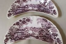 Beautiful Settings / Lovely pottery, porcelain, china, glass, crystal / by Donna Brumby
