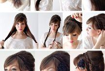 hairstyles / by Breanna Shafer