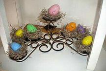 Spring and Easter decorating