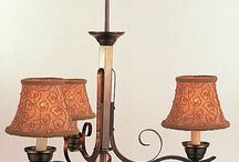 Centerpieces / Lamp shades, candelabra, tall centerpieces, lodge centerpieces, non-shaded votive candle holders, shaded cordless lamps, shaded lamps, cordless lamps, votive candle holders, candle holders, tabletop accessories, rental lamps