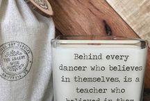dance teacher gift ideas