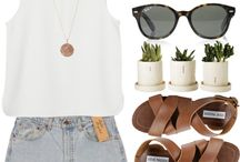 Fashion Inspired // Beach Babe / by Brianna Gamble