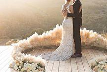 pampas wedding