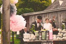Bröllop - detaljer / Dukning, dekoration, blommor