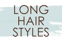 Long Hairstyles / Do you have long hair and are looking for a new look? Thinking about getting extensions? Here are some long hairstyles for inspiration!