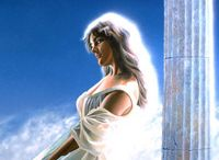 Déesse / C'est des dieux grec