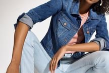 spring 2018 denim / we're on it / Want better-than-ever denim? We're on it. Super-flattering fits, more sizes, extra-special details and then some are here.
