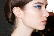 Eyeliner bleu