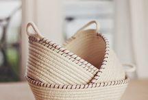 cestas de cuerda