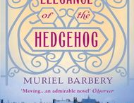 The Elegance of the Hedgehog - Muriel Barbery / 'Madame Michel has the elegance of the hedgehog: on the outside she is covered in quills, a real fortress, but my gut feeling is that on the inside, she has the same simple refinement as the hedgehog: a deceptively indolent little creature, fiercely solitary--and terrible elegant.' / by Gallic Books