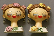 Lady Head Vases / A place to enjoy some oldies but goodies.