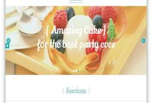Bakery Cakery Food Themes / We have clean, minimal and modern list of creative Bakery, Cakery & Food Themes for bakeries, cake shops, pastry shops, cafe, food blogs, bistro, farmers market, cookie display, market ideas, bake sale for your bakery, fast food eatery, cafe, or bar