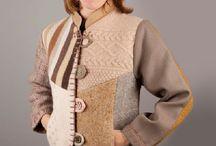 triko patchwork ceket