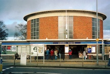 Arnos Grove / Pictures about the area in and around Arnos Grove tube station served by the Piccadilly line in London, UK.  / by Randomly London