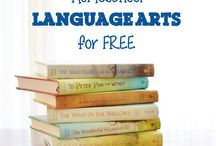 Homeschool: Language Arts / Homeschool language arts ideas