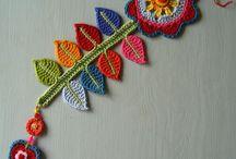 Crochet FLORES Y APLICACIONES