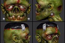 Frankenstein / Zbrush