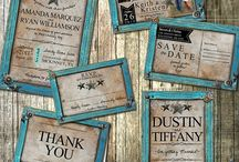wedding invites and favours