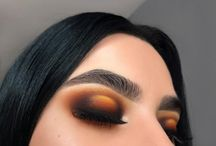 Makeup Ideas / makeup ideas, makeup inspiration, eyeshadow, eye makeup, eyeshadow look, highlight, foundation, lipstick, lipgloss