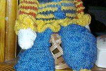 Elistaart - LALKI - moje wzory ubrań / Doll, knitting/crochet, Paterns, My ideas, Clothes