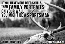 You Might Be a Sportsman...