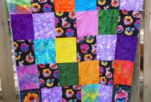 Quilts and Blankets / Handmade Quilts and Blankets. Fabulous One of a Kind Pieces. Works of Art..  / by Cat's Niche-n-Stitch