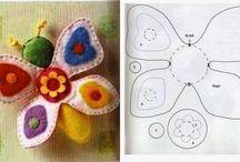 Brinquedos Pedagógicos feito a mão / Dicas, moldes e inspirações de brinquedos pedagógicos feito a mão